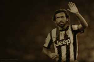 Andrea Pirlo Wallpaper by bluezest1997
