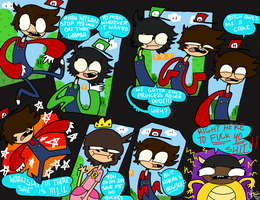 MARIO SKYPE BROS WHATEVER by Jones101