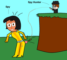 Spy fishing by Toon-Resurrection92