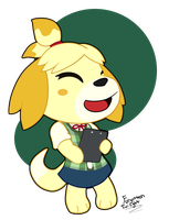 Happy Isabelle by Forgotten-Twilight