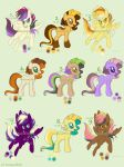 MLP Point Adoptables (9/9 Open) by AutumnBells