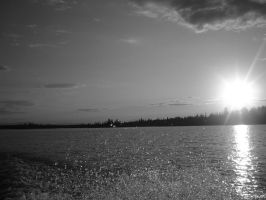 sun on the lake by shaylee-2