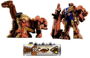 Dino Charge Brown Brontosaurus Zord for GalaxyRed by Greencosmos80