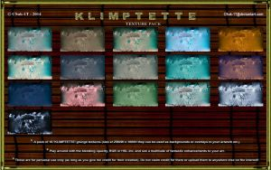 RESOURCE STOCK: KLIMPTETTE 16 TEXTURE PACK by CSuk-1T