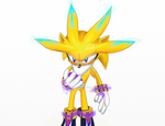 Gold the hedgehog 02 by silversonic2000