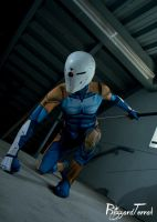 W15 - Grey Fox / Cyborg Ninja by BlizzardTerrak