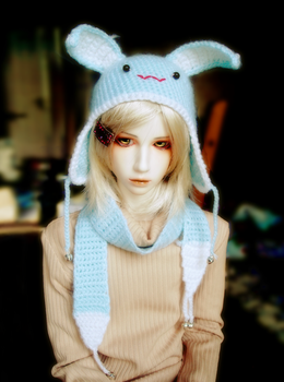 A Little Blue Bunny by the-sinister