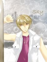 Sky in the snow redone by dhqx