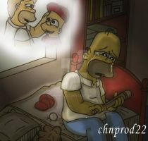 Homer - We Miss You, Son by ChnProd22
