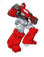 Transformers - Ironhide by lusiphur