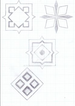 Some Random Tattoo Designs by FR1C710N