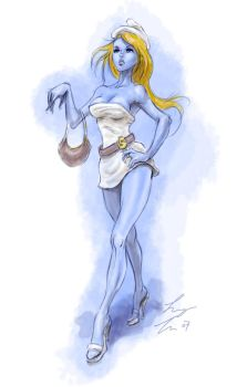 smurfette by sloppey