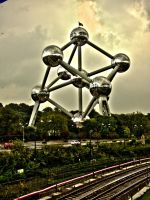 Atomium -Brussel by Wimmeke63