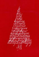 Christmas tree 2 by Alpacalligraphy