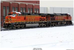 BNSF Dash 9s 5118 and 5239 by hunter1828