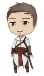 Altair-Chibi  - Its peaceful nature by DeadlyEvilSmile