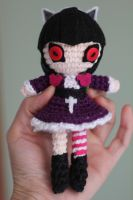 GOTH ANNIE from League of Legends Amigurumi Doll by Npantz22