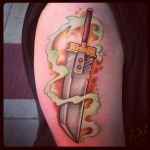 Buster Sword tattoo by dlb6981