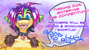 Bewm Headshot comp CLOSED! (and drawn!) by carnival