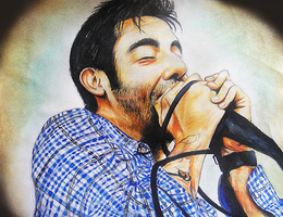 Deftones: Chino Moreno by NextDayWillNeverCome