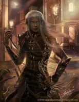 Drow in the City by keelerleah