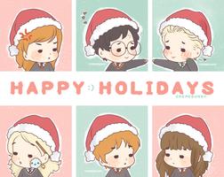 Happy Holidays ^u^ by Cremebunny