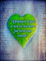 Love Defies the Distance by EmmieBeeCreations