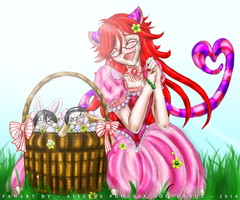 Easter Basket Bunnies by AiselnePN