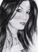 Kelly Hu by Ambient-Reverie