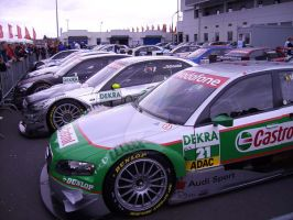 DTM 2007 Nuerburgring park by chrispg2000