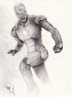 Ironman: Sketch by jdotjam