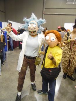 Rick and Morty Cosplay 50 CJMC. by brandonale