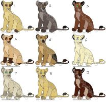 Lioness Adoptables 2 CLOSED by MikasAdoptables