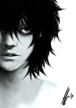 L/ Death Note by NellSa