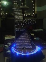 Gingerbread Stark Tower Nightlife by Leviathan2010