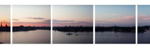 Sunset in Stockholm by PartySonya
