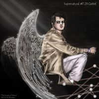 Supernatural S7.23 Castiel 'The Sound of Silence' by noji1203