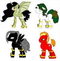 Four Ponies of the Apocalypse by roy9th