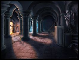Crypt Interior by Vermin-Star
