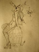 A sketch for the Evil Devil by guaya