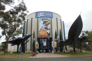 San Diego Air and Space Museum Entrance by rlkitterman