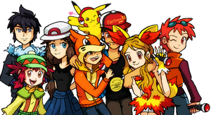 Pokestereo team by Tzblacktd