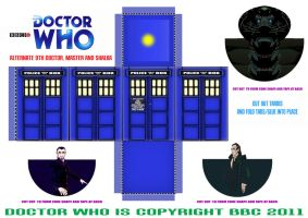 Doctor Who - Alternate 9th Dr by mikedaws