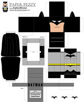 Paper Pezzy- Batman by CyberDrone