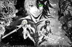 crossover: Shingeki no Kyoujin and Claymore by Lucithea