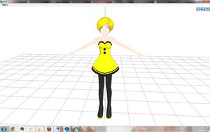 Rin Dress  - Wip by GisLenKagamine