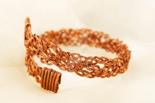 Double Braided Cuff by ClaireKincaid