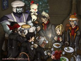 Vana'diel Dinner by Naerko