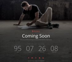 Polaris - Free Coming Soon Template by templatewire