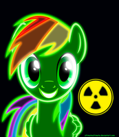 Request MaxVengence Neon Pony by ZantyARZ